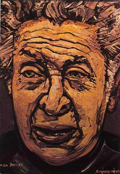 Self-Portrait, 1961 - David Alfaro Siqueiros
