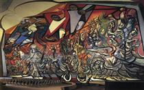 The March of Humanity - David Alfaro Siqueiros