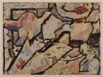 Imaginative Composition - 'The Tent' - David Bomberg
