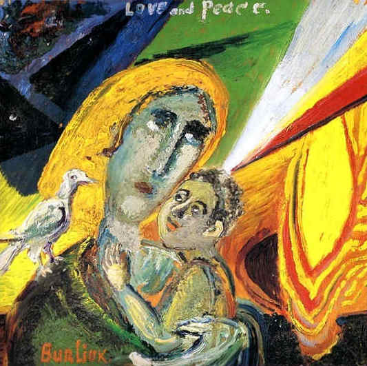 Love and peace, 1914 - David Burliuk
