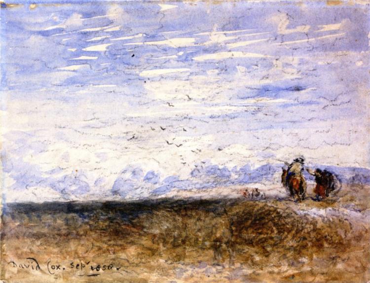 Crossing the Moor, 1858 - David Cox