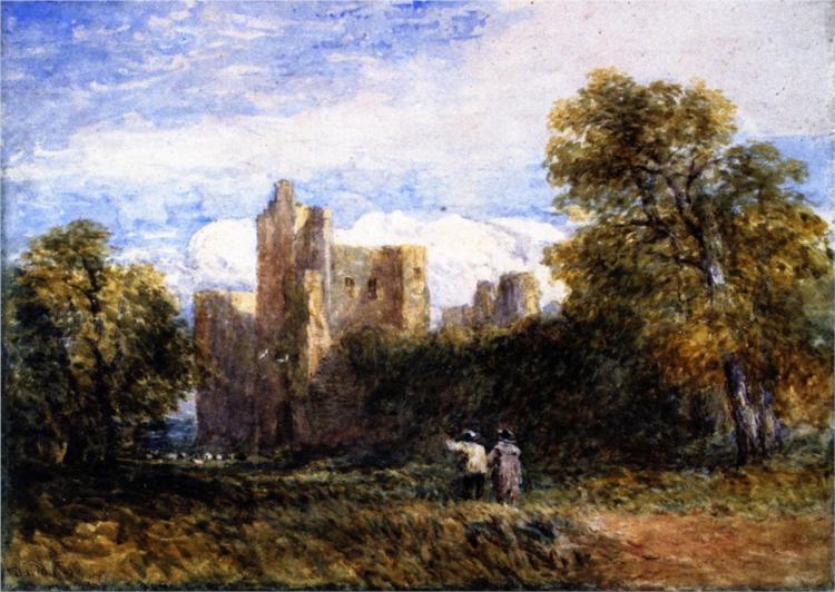 Kenilworth Castle, 1859 - David Cox