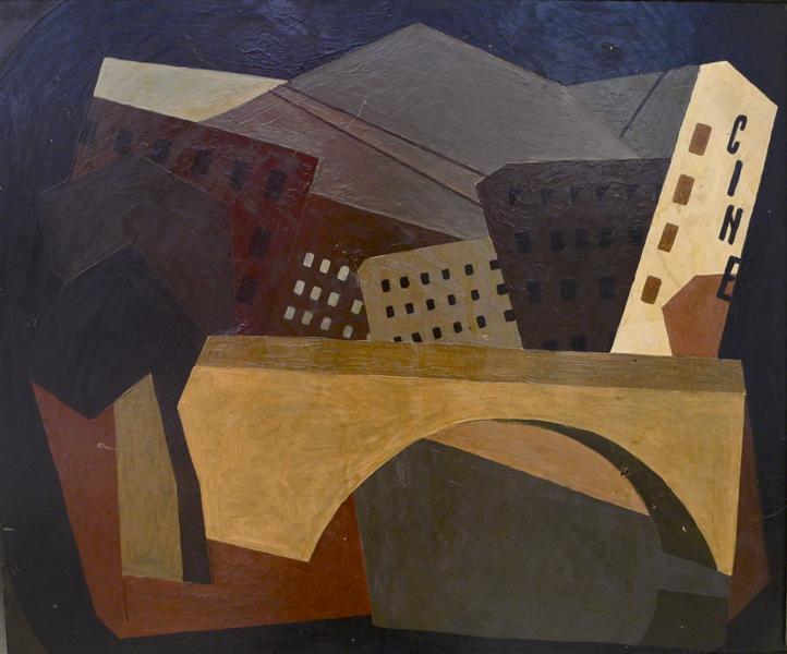 Cubist Composition, 1920 - David Kakabadze