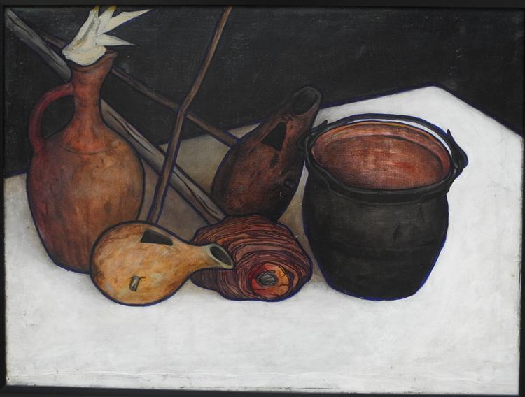 Imeretian still life, 1919 - David Kakabadze