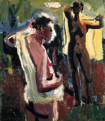 Les Baigneuses (The Bathers), 1959 - David Park