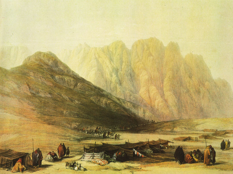 Encampment of the Oulad Said