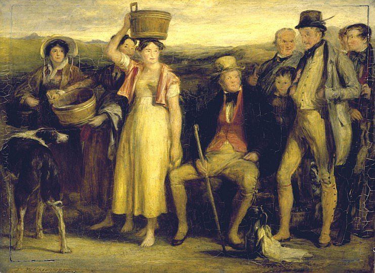 The Abbotsford family, 1817 - David Wilkie