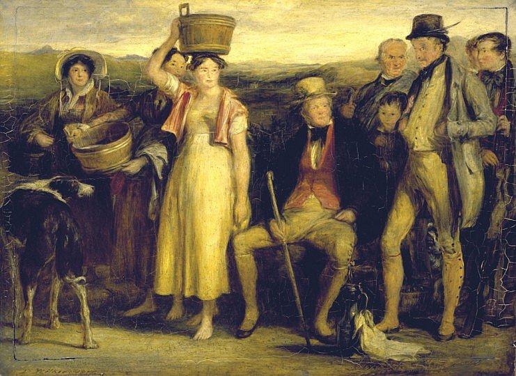 The Abbotsford family, 1817 - Дейвід Вілкі
