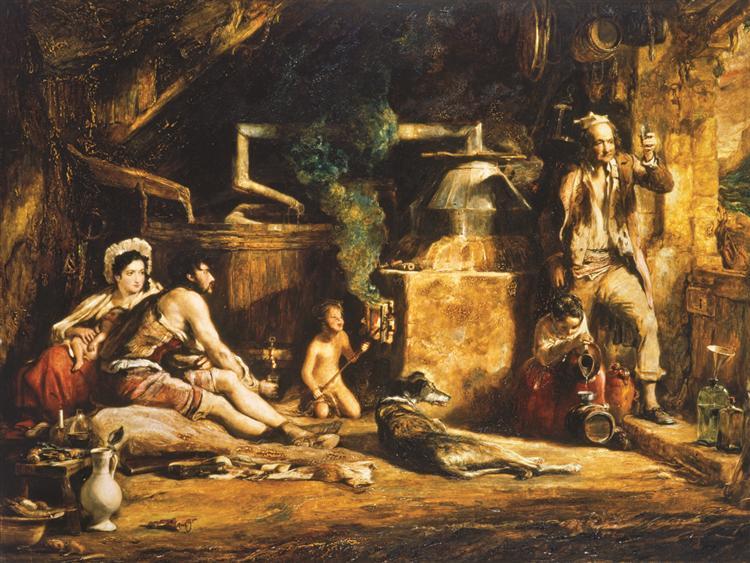 The Irish Whiskey Still, 1840 - David Wilkie