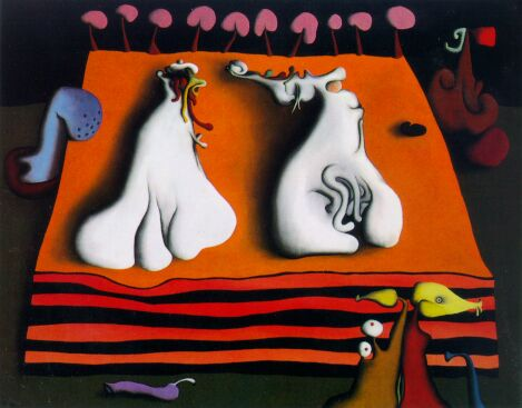 Lovers' White Dreamtime - Desmond Morris