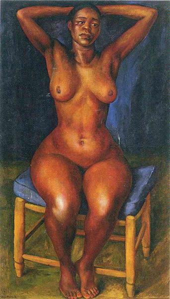 Dancer Resting - Diego Rivera