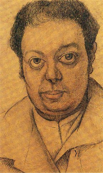 Self Portrait - Rivera Diego
