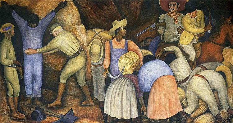 The Exploiters, 1926 - Diego Rivera