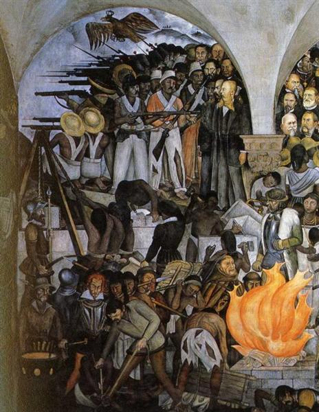 The History of Mexico, 1929-1935 - Diego Rivera
