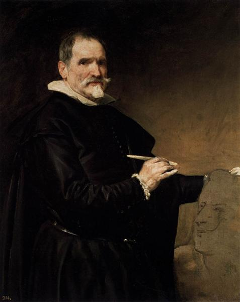 Portrait of the Sculptor, Juan Martinez Montanes, 1635 - Diego Velazquez