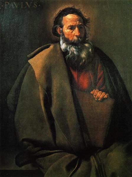 St. Paul, c.1619 - c.1620 - Diego Velazquez
