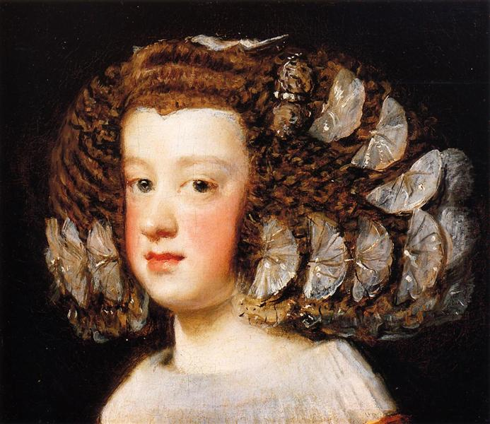 The Infanta Maria Theresa, daughter of Philip IV of Spain, 1651 - 1654 - Diego Velazquez