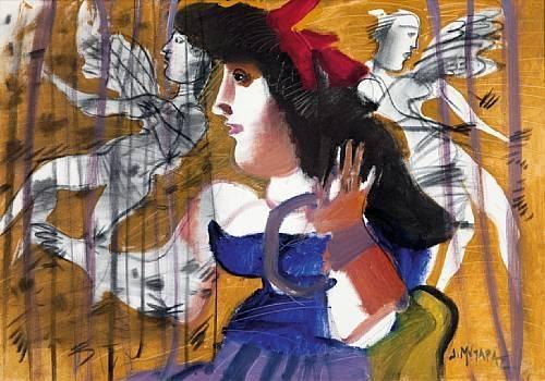 Κορίτσι με αγγέλους - Δημήτρης Μυταράς