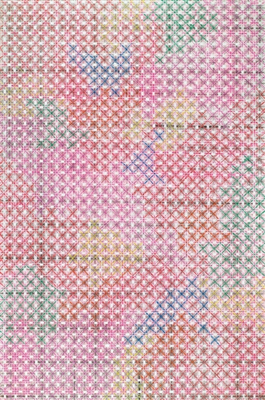 Appearance of Crosses 2004-11, 2004 - Ding Yi