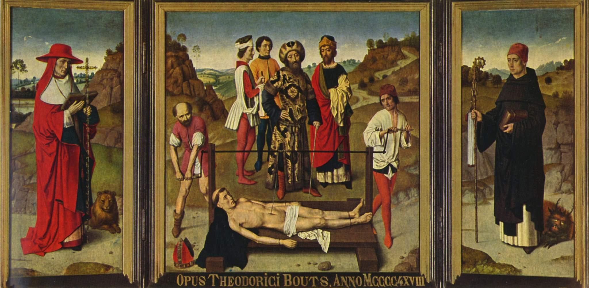 Martyrdom of Saint Erasmus, 1458