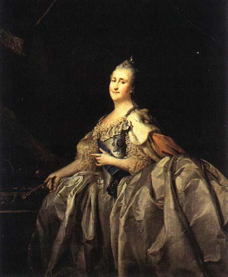 Catherine II, 1782 - Dmitry Levitzky