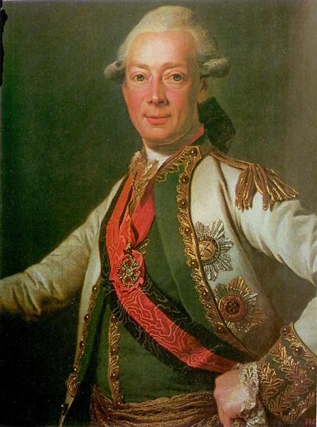 Count Ivan Grigoryevich Chernyshov, c.1790 - Dmitry Levitzky