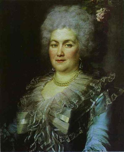 Portrait of Gubareva, 1789 - Dmitry Levitzky