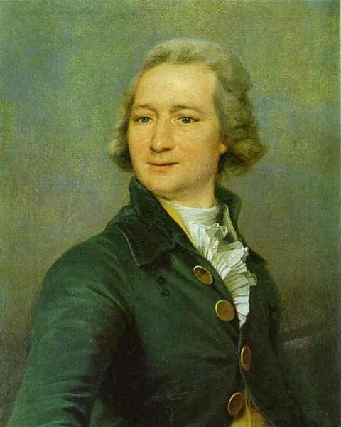 Portrait of I. I. Dmitriyev, c.1795 - Dmitry Levitzky
