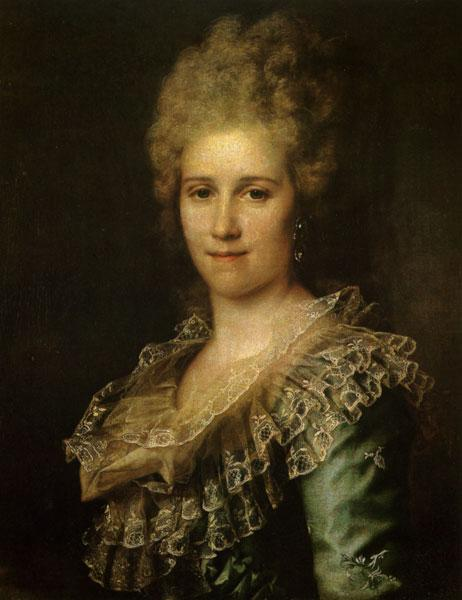 Portrait of Unknown Woman, c.1785 - Dmitry Levitzky