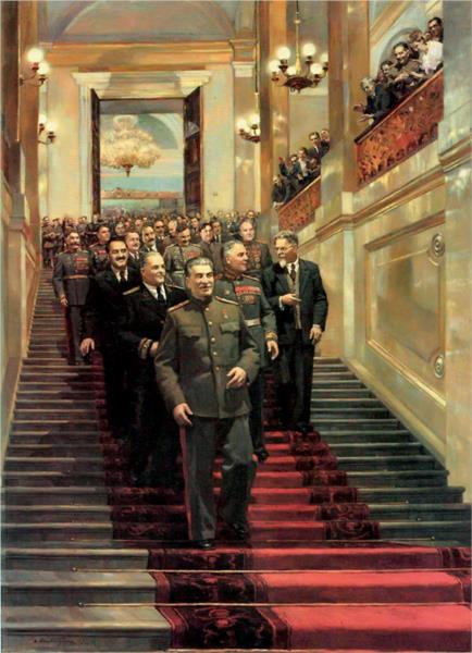 Reception in the Kremlin, May 24, 1945, 1947 - Dmitry Nalbandyan