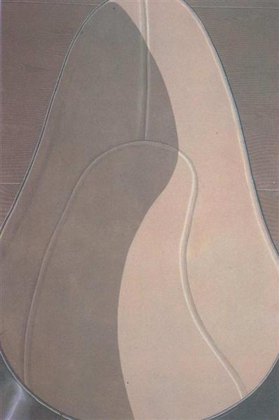 Inside of lady's shoe, 1969 - Domenico Gnoli