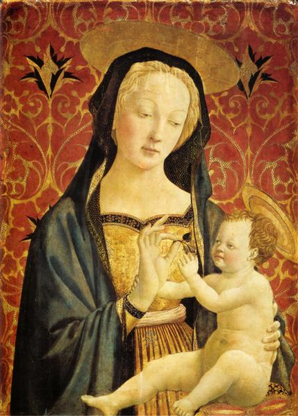 Madonna and Child, 1435 - 1437 - Domenico Veneziano