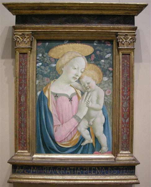 Madonna and Child, 1445 - 1450 - Domenico Veneziano
