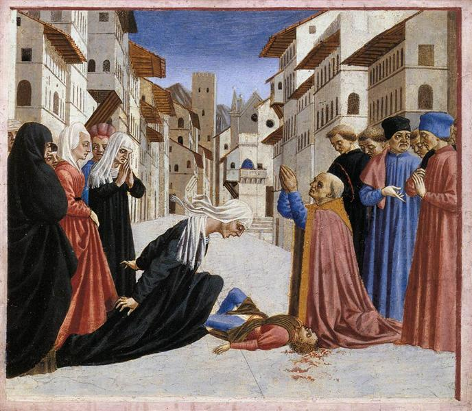 The Miracle of St. Zenobius, 1442 - 1448 - Domenico Veneziano