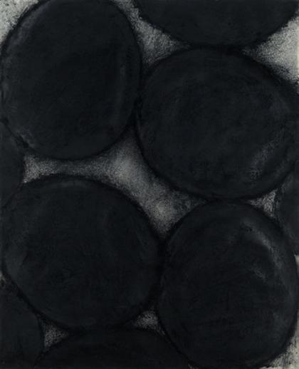 Black Eggs - June 27, 1988, 1988 - Donald Sultan