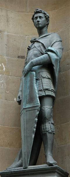 Statue of St. George in Orsanmichele, Florence, 1416 - Donatello