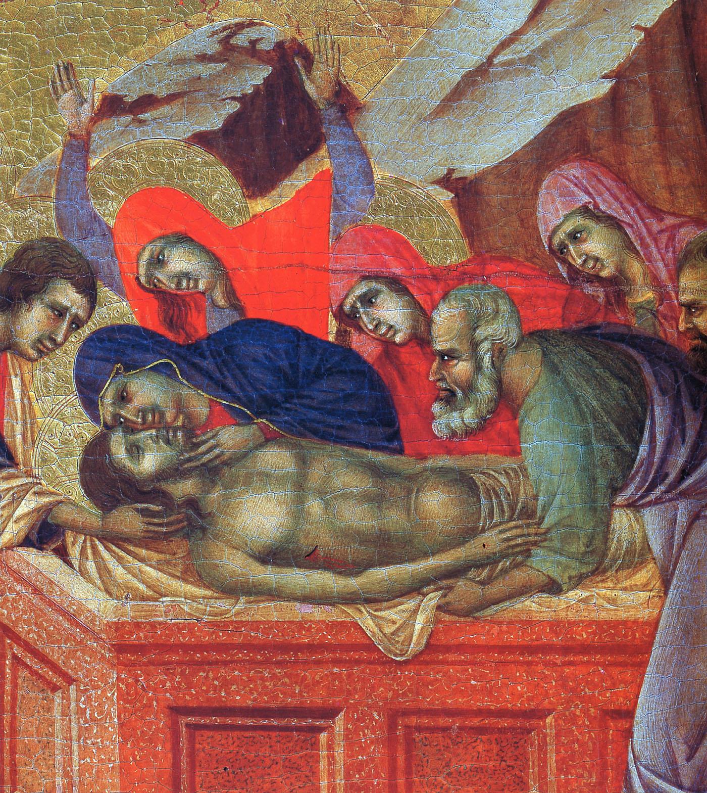 lamentation over the dead christ giotto