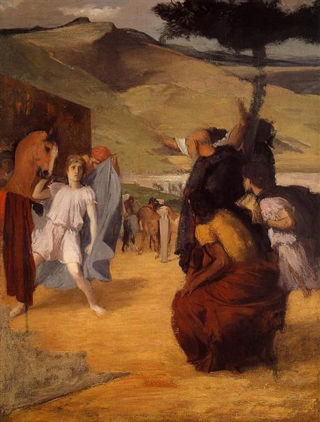 Alexander and Bucephalus, 1859 - 1861 - Edgar Degas