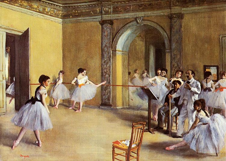 Dance Class at the Opera - Edgar Degas