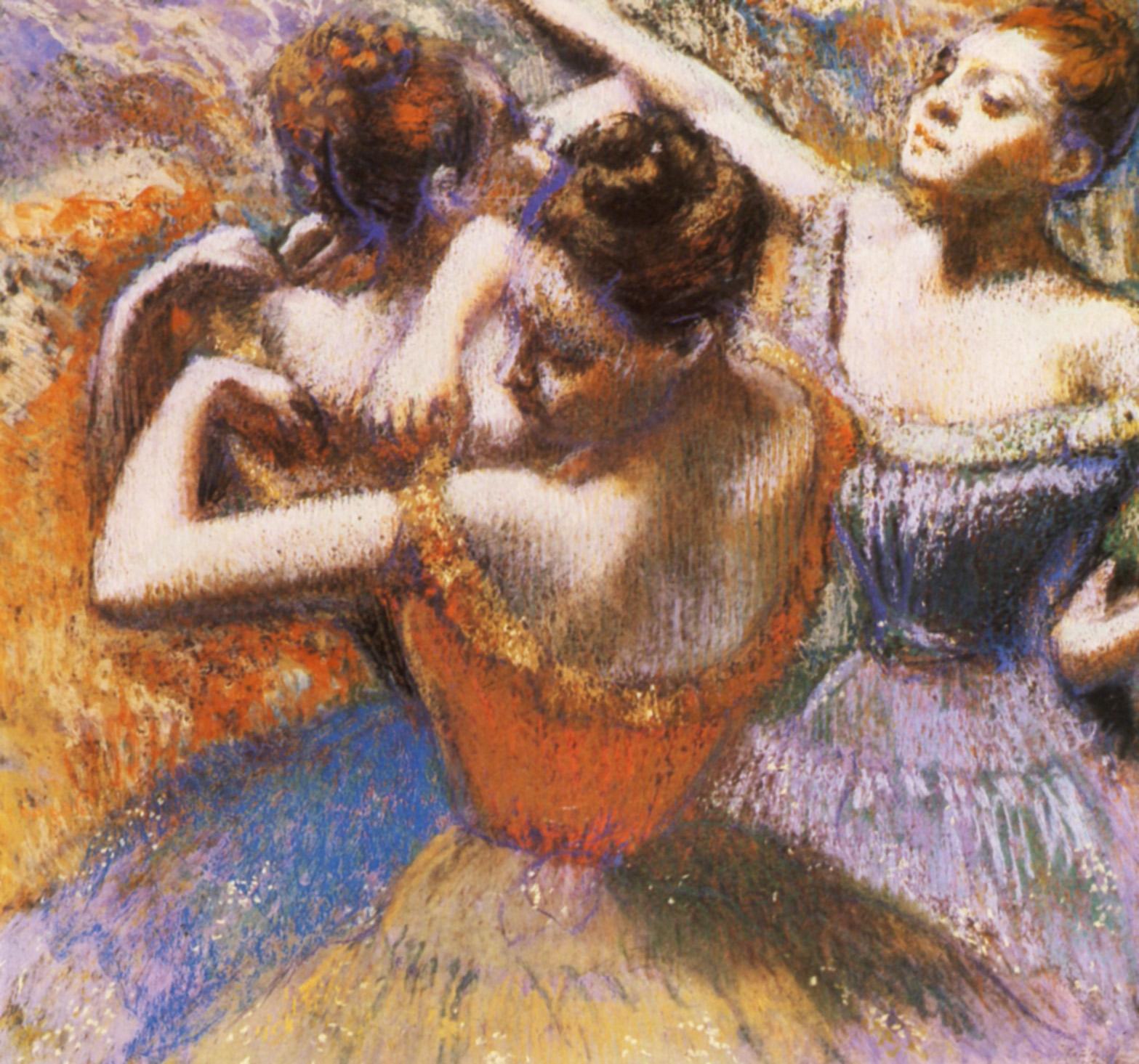 EDGAR DEGAS Dancers-1899