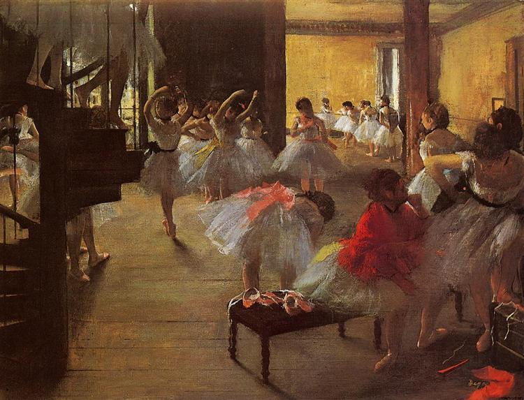 The Dance Class, 1873 - Edgar Degas