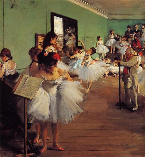 The Dance Class, 1874 - Edgar Degas