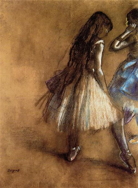 Two Dancers, c.1878 - c.1880 - Edgar Degas