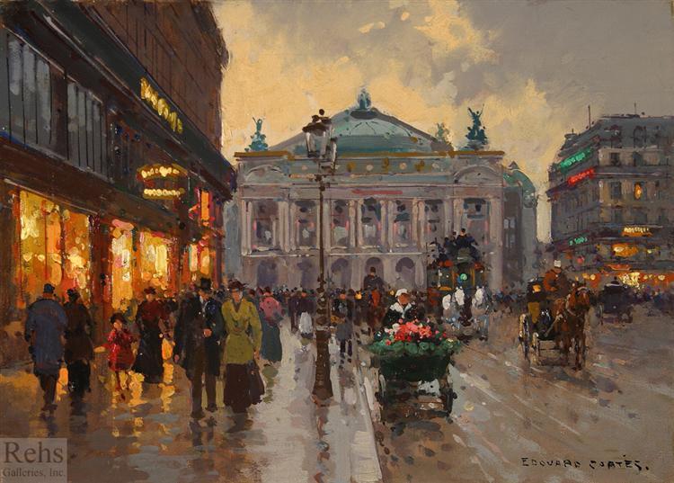 Avenue DeL'Opera - Edouard Cortes