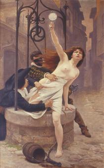 La Vérité sortant du puits - Edouard Debat-Ponsan