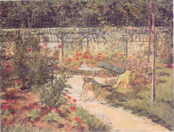 Bench, 1881 - Edouard Manet