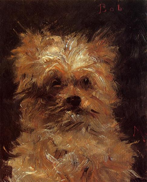 Head of a Dog, 1876 - Edouard Manet