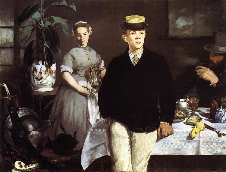Luncheon in the Studio, 1868 - Edouard Manet