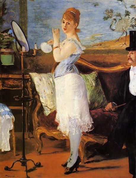 Nana, 1877 - Эдуард Мане