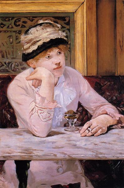 Plum, 1878 - Edouard Manet